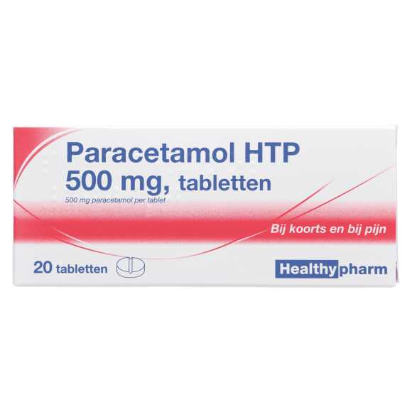 Healthypharm Paracetamol tabletten 500 mg product photo