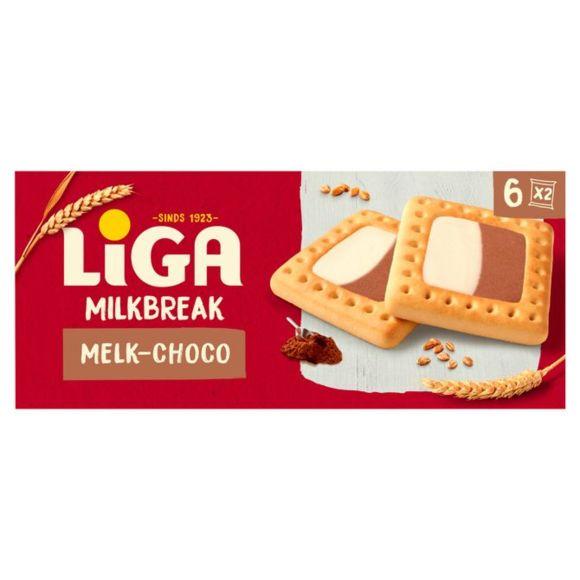 LiGA Milkbreak duo melk chocolade product photo
