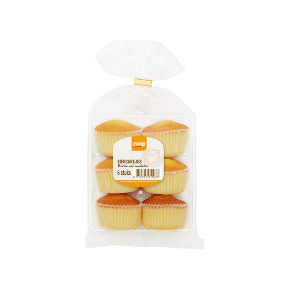 Coop Roomboter eiercakejes product photo
