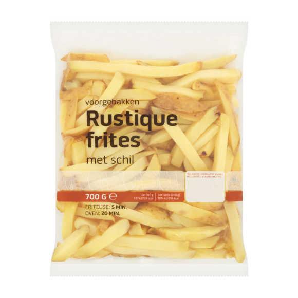 Rustique friet met schil product photo