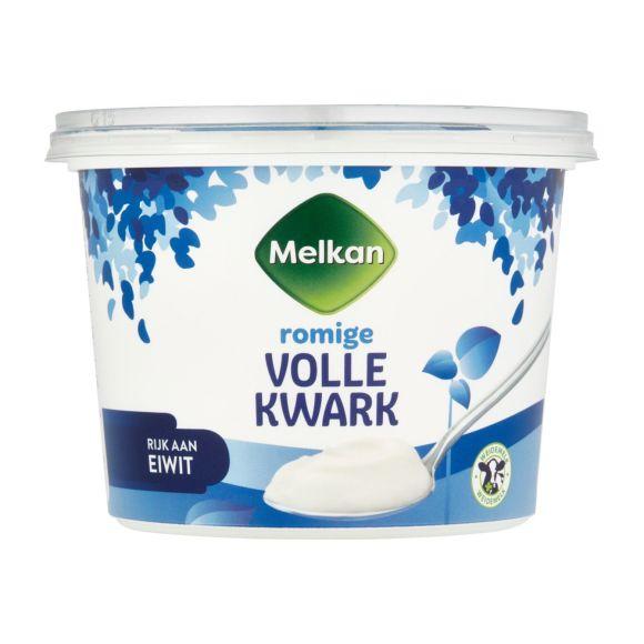 Melkan Volle kwark product photo