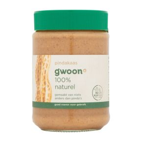 g'woon Pindakaas 100% naturel product photo