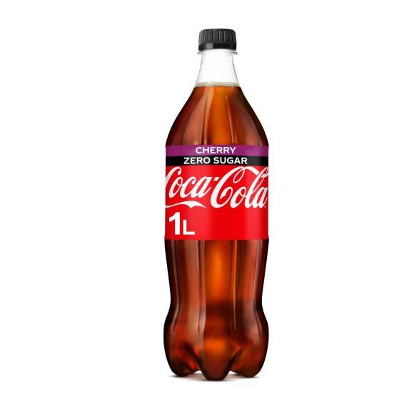 Coca-Cola Zero sugar cherry product photo