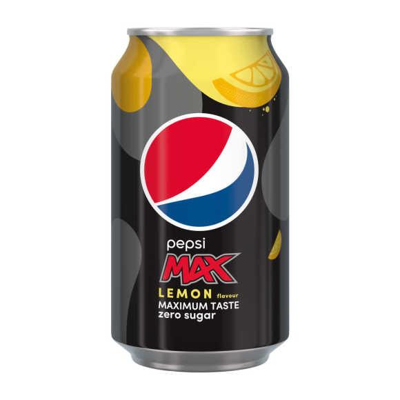 Pepsi Max cola zero lemon blik product photo