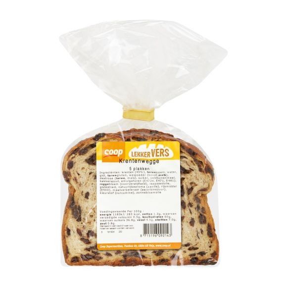 Coop Vruchtenbrood met krenten product photo