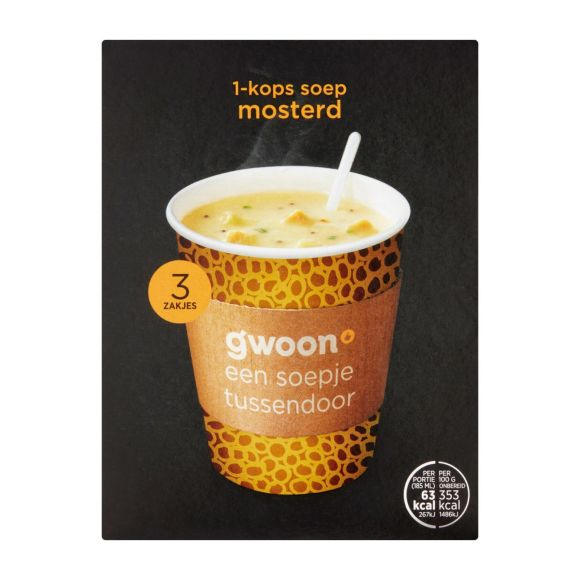 g'woon Mosterdsoep product photo