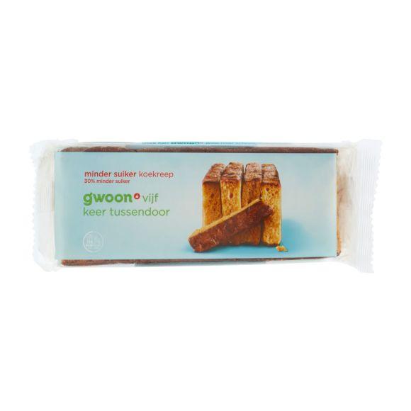 g'woon Ontbijtkoekrepen minder suiker product photo