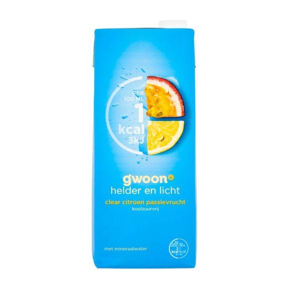 g'woon Clear citroen passievrucht koolzuurvrij product photo