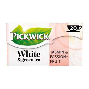 Pickwick White & green tea jasmin & passionfruit groene thee product photo