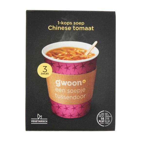 g'woon Chinese tomatensoep product photo