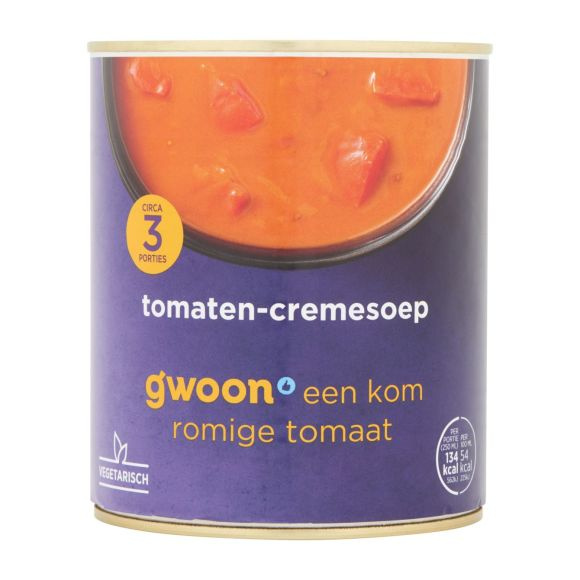 g'woon Tomaten crème soep product photo