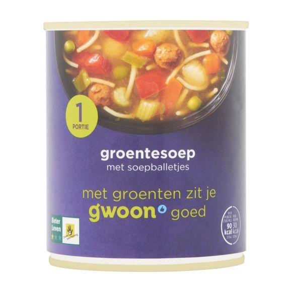 g'woon Groentesoep product photo