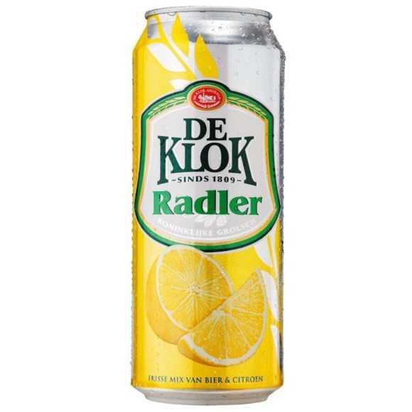 De Klok Radler citroen blik product photo