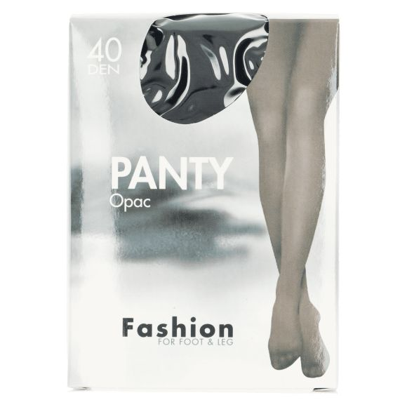 Fashion Panty opaque zwart 44/48 product photo