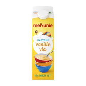 Melkunie Halfvolle vanille vla product photo