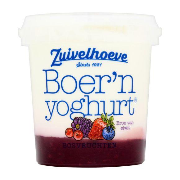 Boer'n yoghurt® bosvruchten 800 gram product photo