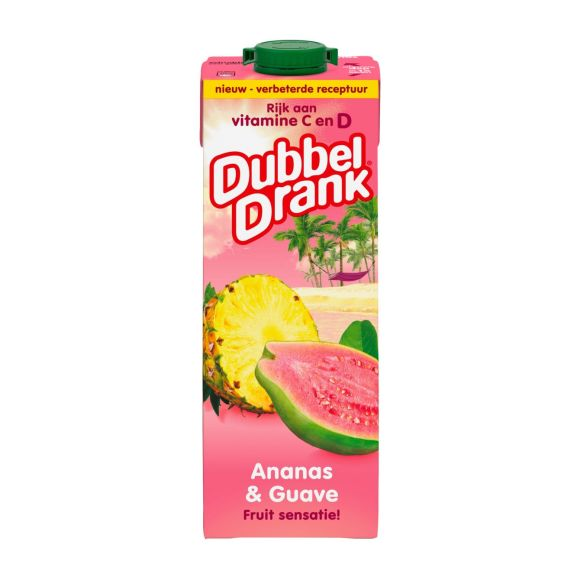 DubbelDrank Ananas & guave product photo