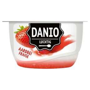 Danio Luchtige kwark aardbei product photo