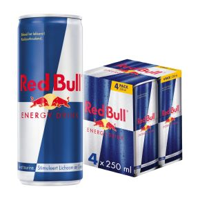 Red Bull Energy drink blik 4 x 25 cl product photo