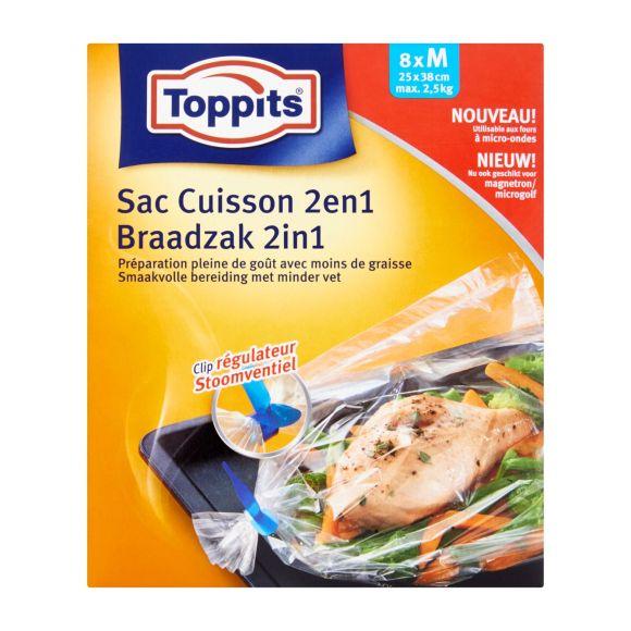 Toppits Braadzakken 2 in 1 - Medium size product photo
