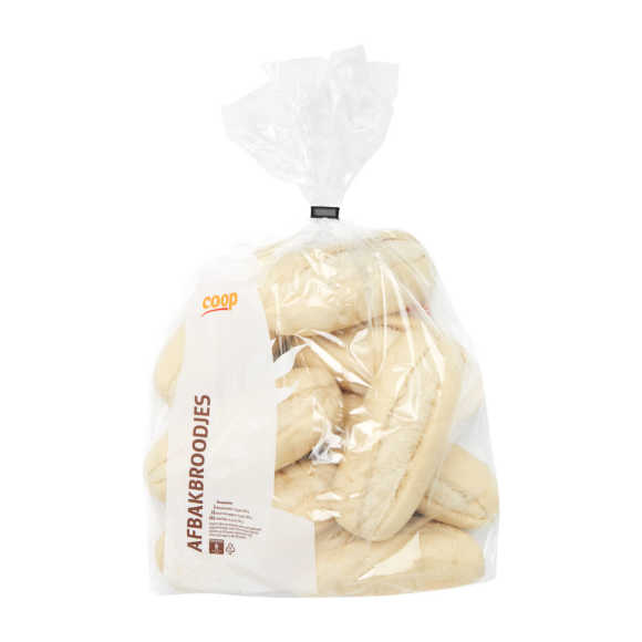 Luxe afbakbroodjes petit pains wit product photo