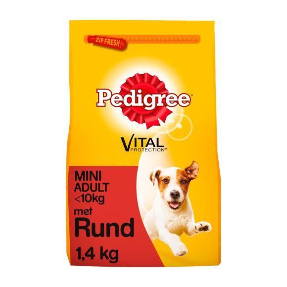 Pedigree hondenvoer droog rund mini adult 1+ jaar product photo