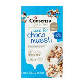 Conzensa Meergranen choco muesli product photo