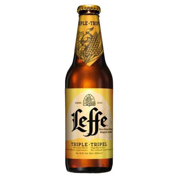 Leffe Tripel Belgisch abdijbier fles product photo