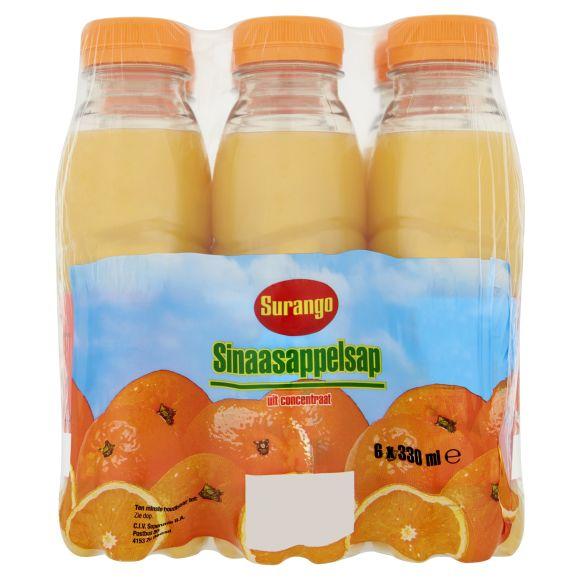 Surango Sinaasappelsap flesje 300 ml product photo