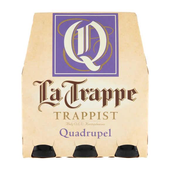 La Trappe Quadrupel trappistenbier fles 6 x 30 cl product photo