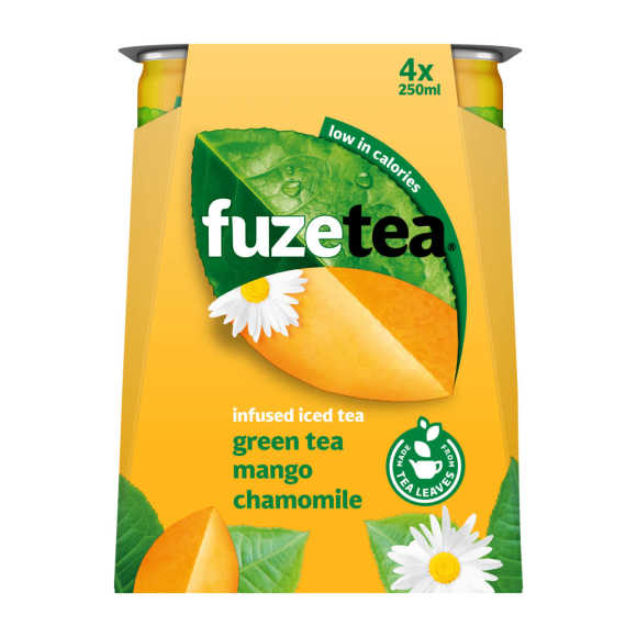 Fuze Green tea mango chamomil product photo