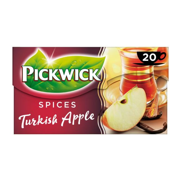 Pickwick Spices turkish apple zwarte thee product photo