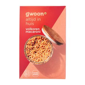 g'woon Volkoren macaroni product photo