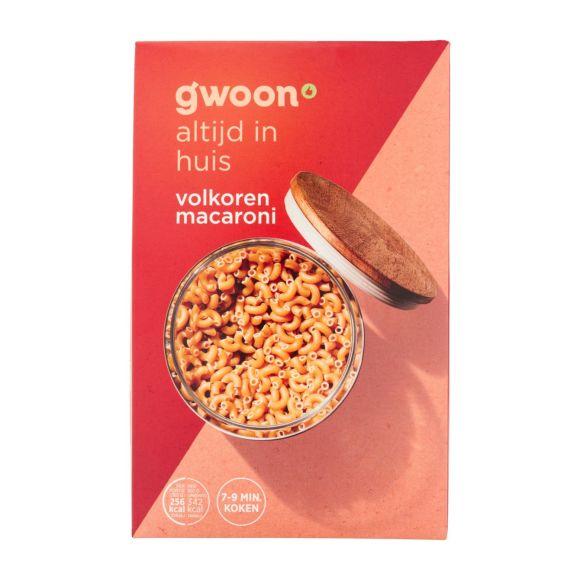 g'woon Volkoren macaroni product photo