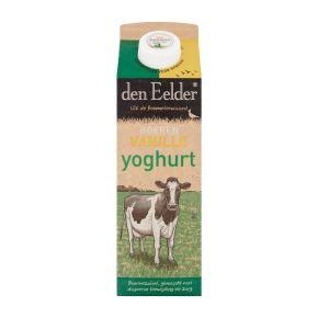 Den Eelder boeren vanille yoghurt product photo