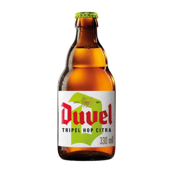 Duvel Blond Tripel hop fles product photo