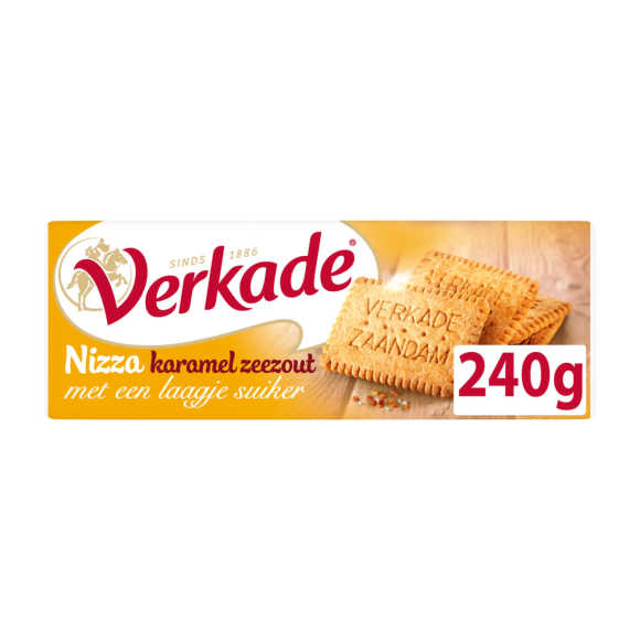 Verkade Nizza koek karamel zeezout product photo