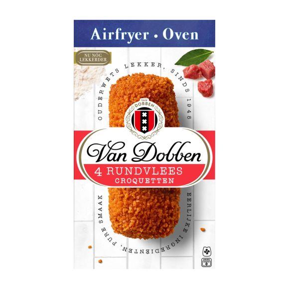 Van Dobben oven en airfryer rundvlees kroketten product photo