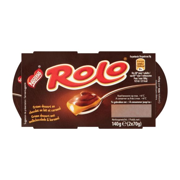 Nestlé Rolo chocolade karamel product photo
