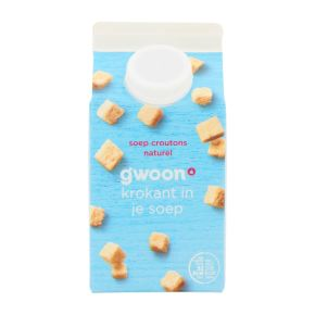 g'woon Soep croutons naturel product photo