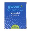 g'woon Toiletblok navul lavendel product photo