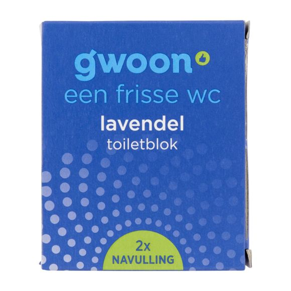 g'woon Toiletblok navul lavendel product photo