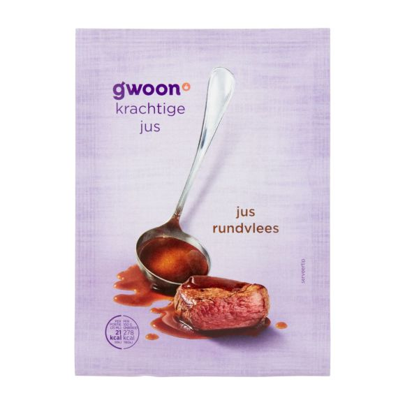 g'woon Jus rundvlees product photo