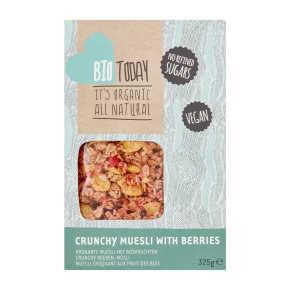 BioToday Cornflakes crunch & bosvruchten product photo