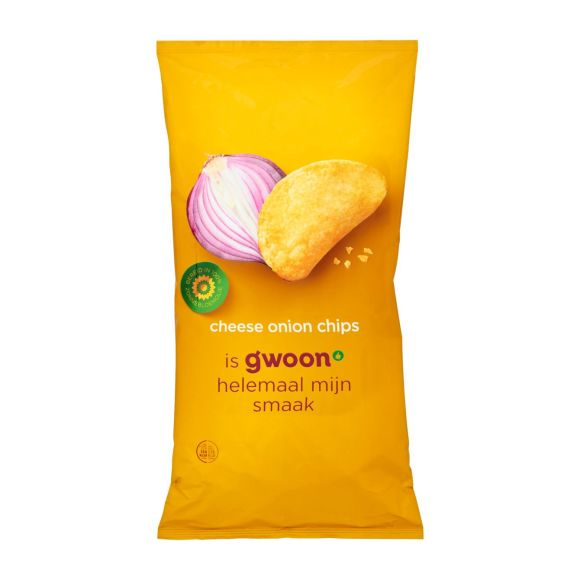 g'woon Chips cheese onion product photo