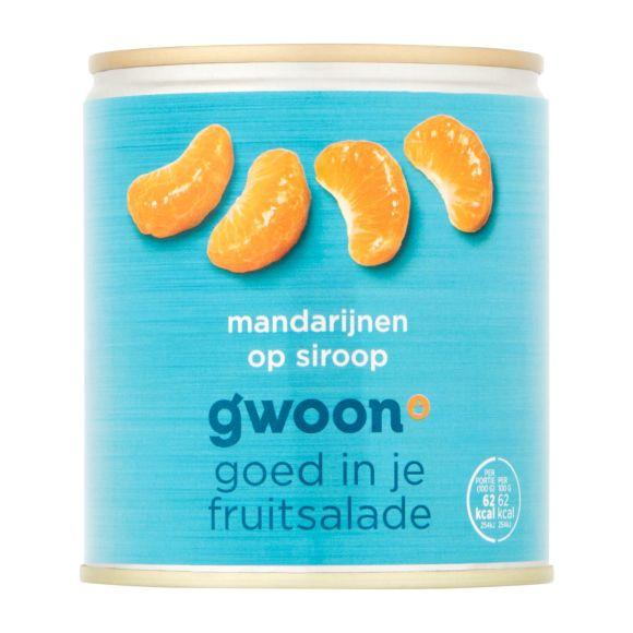 g'woon Mandarijnen op siroop product photo