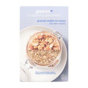 g'woon Granola zaden & noten product photo