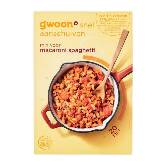 g'woon Mix voor macaroni & spaghetti product photo