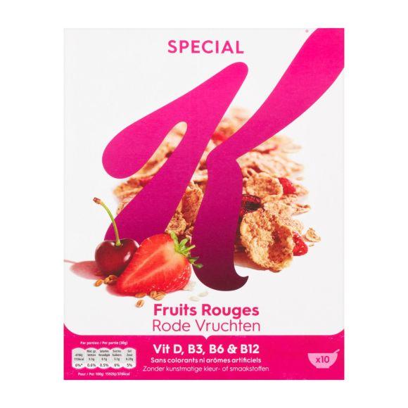 Kellogg's Special K rode vruchten product photo
