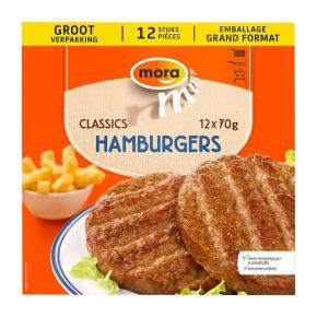 Mora hamburgers product photo